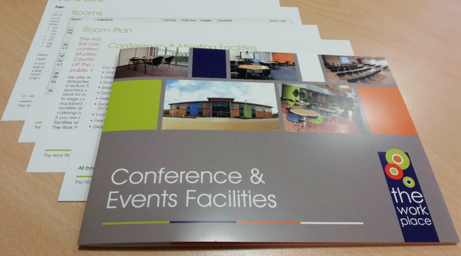 New Brochure for The Work Place